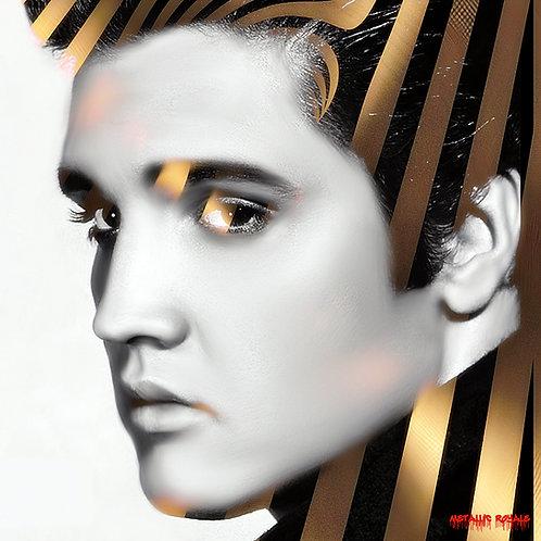 Metallic Elvis King by Metallic Royale