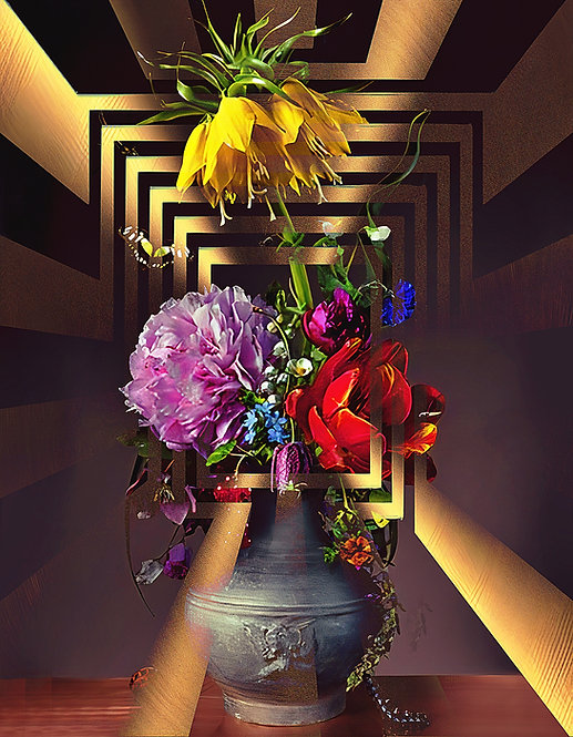 Metallic Bouquet Four - MetallicRoyale