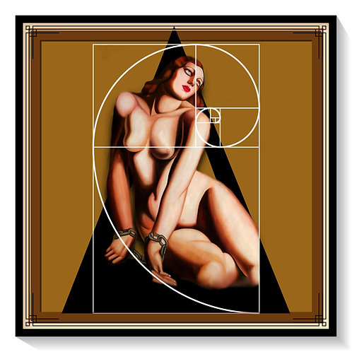 Andromeda After Tamara De Lempicka