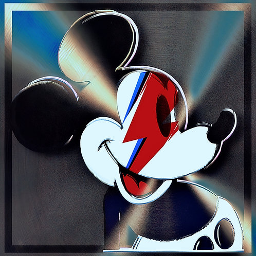 Mickey likes Bowie So Much