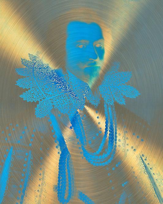 Metallic Royale - The Blue Man