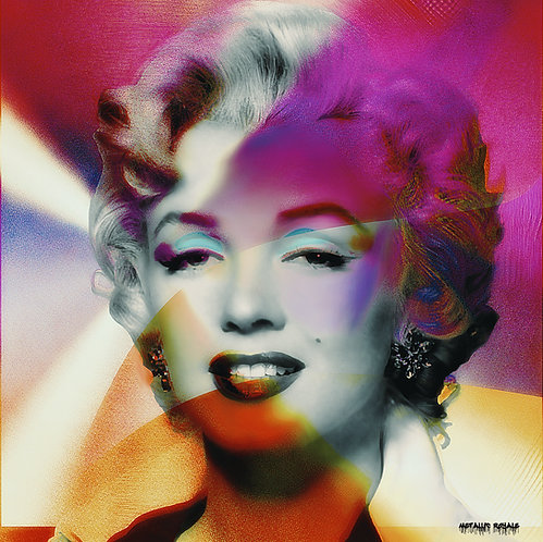 Metallic Marilyn by Metallic Royale