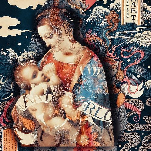 Cameo - Renaissance (Leonardo)