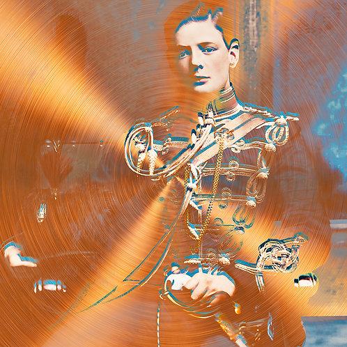 Metallic Royale - A young Winston Churchill