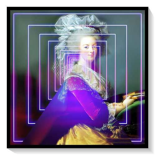 Marie Antionette  In Neon Lights