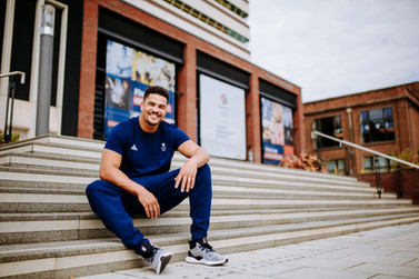 Hull University Team GB - Anthony Ogogo