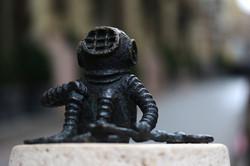 Kolodko miniszobor - a búvár