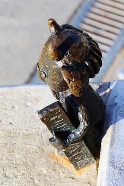 Kolodko miniszobor - Mekk Elek