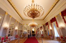 Sándor-palota a budai várnegyedben