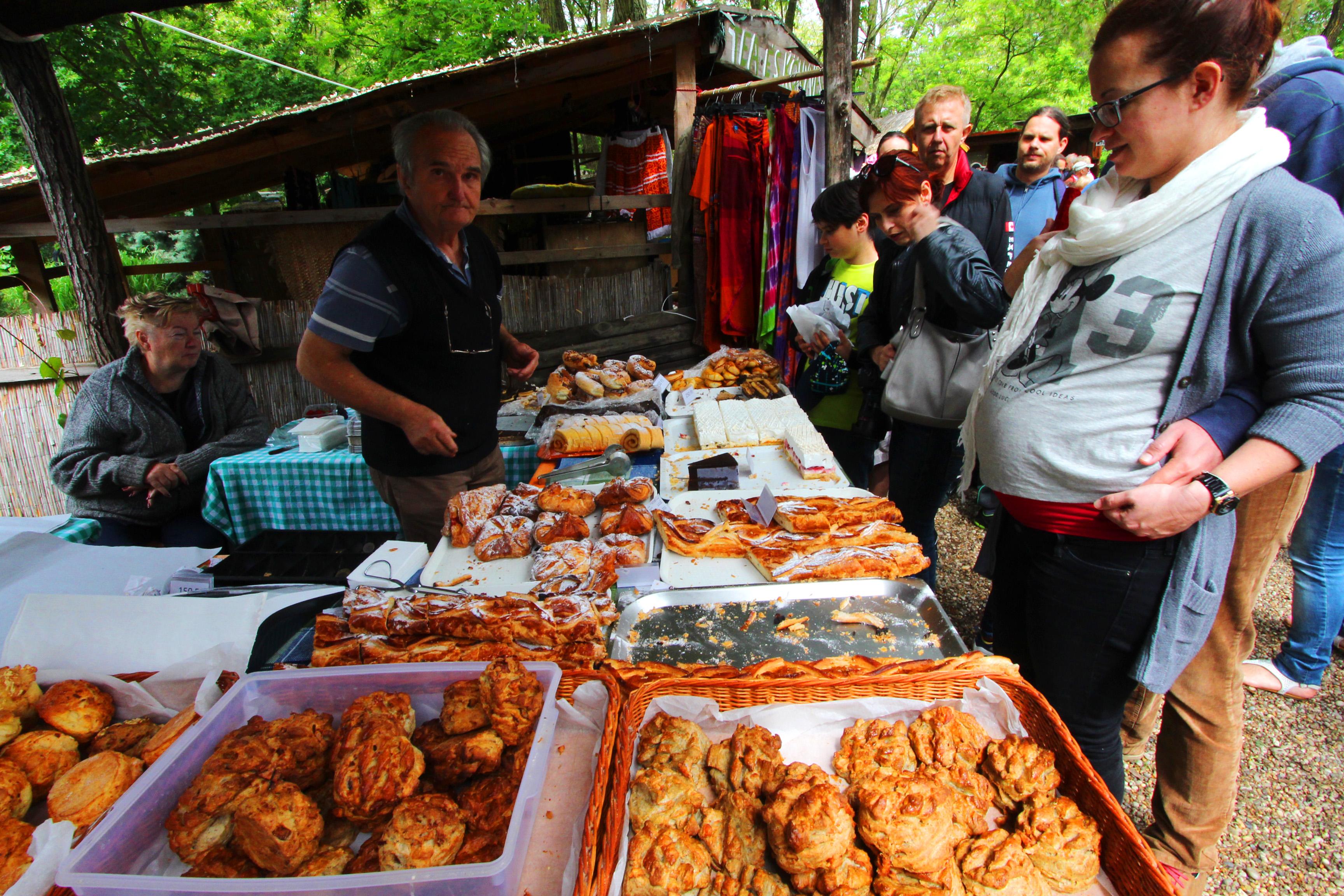 Káptalantóti piac Balatonfelvidéken