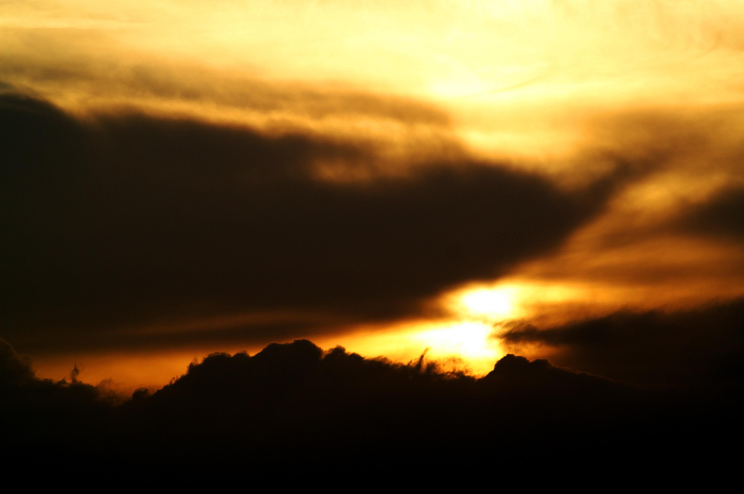 Hortobágy, darules naplementében
