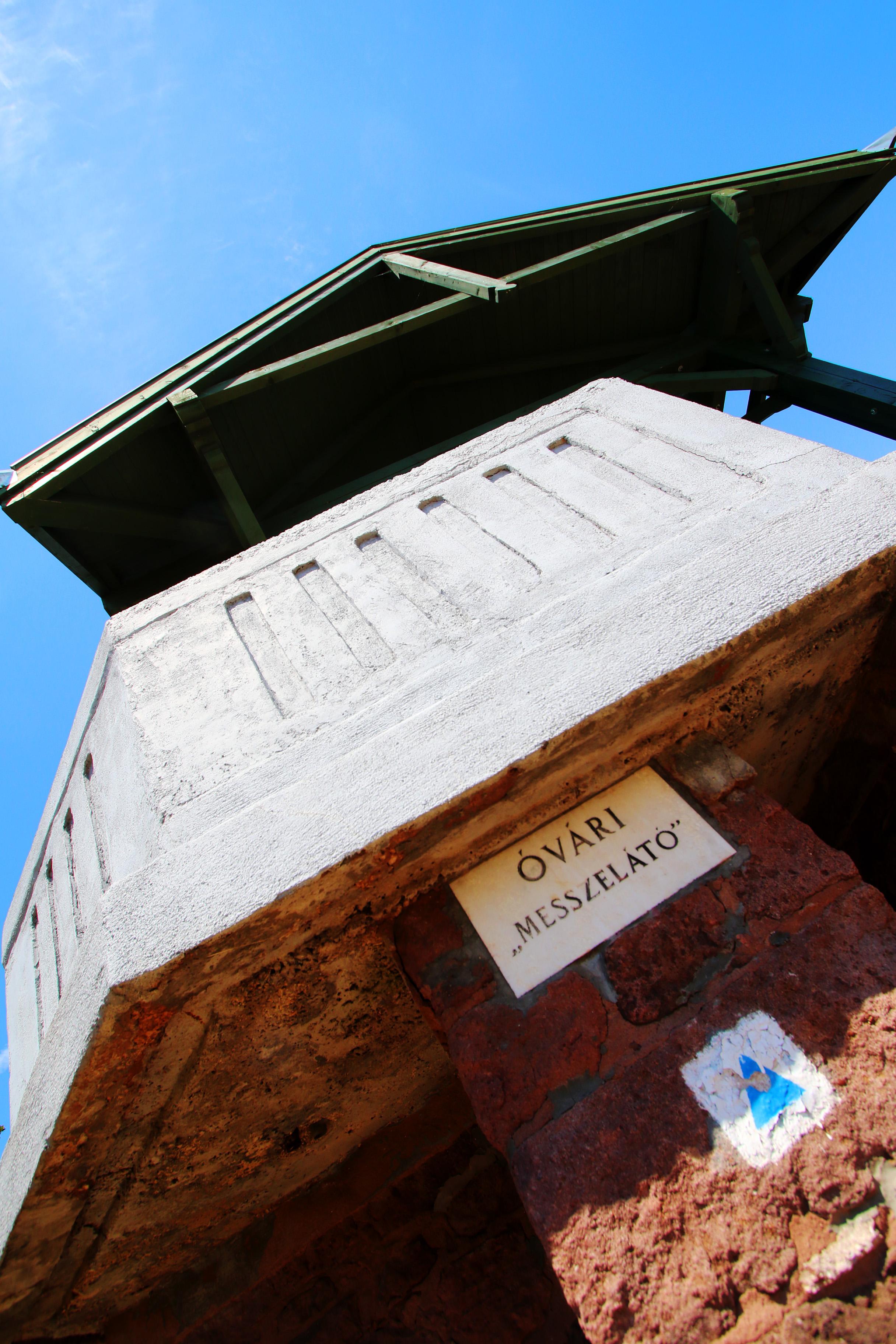 Balatonalmádi, Óvári messzelátó