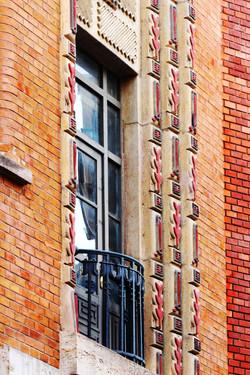 Kazinczy utcai zsinagóga kívülről