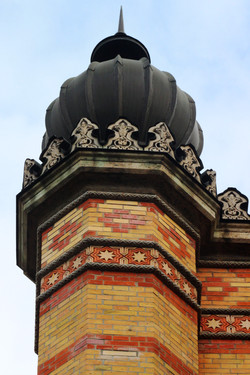 A Dohány utcai zsinagóga kívülről
