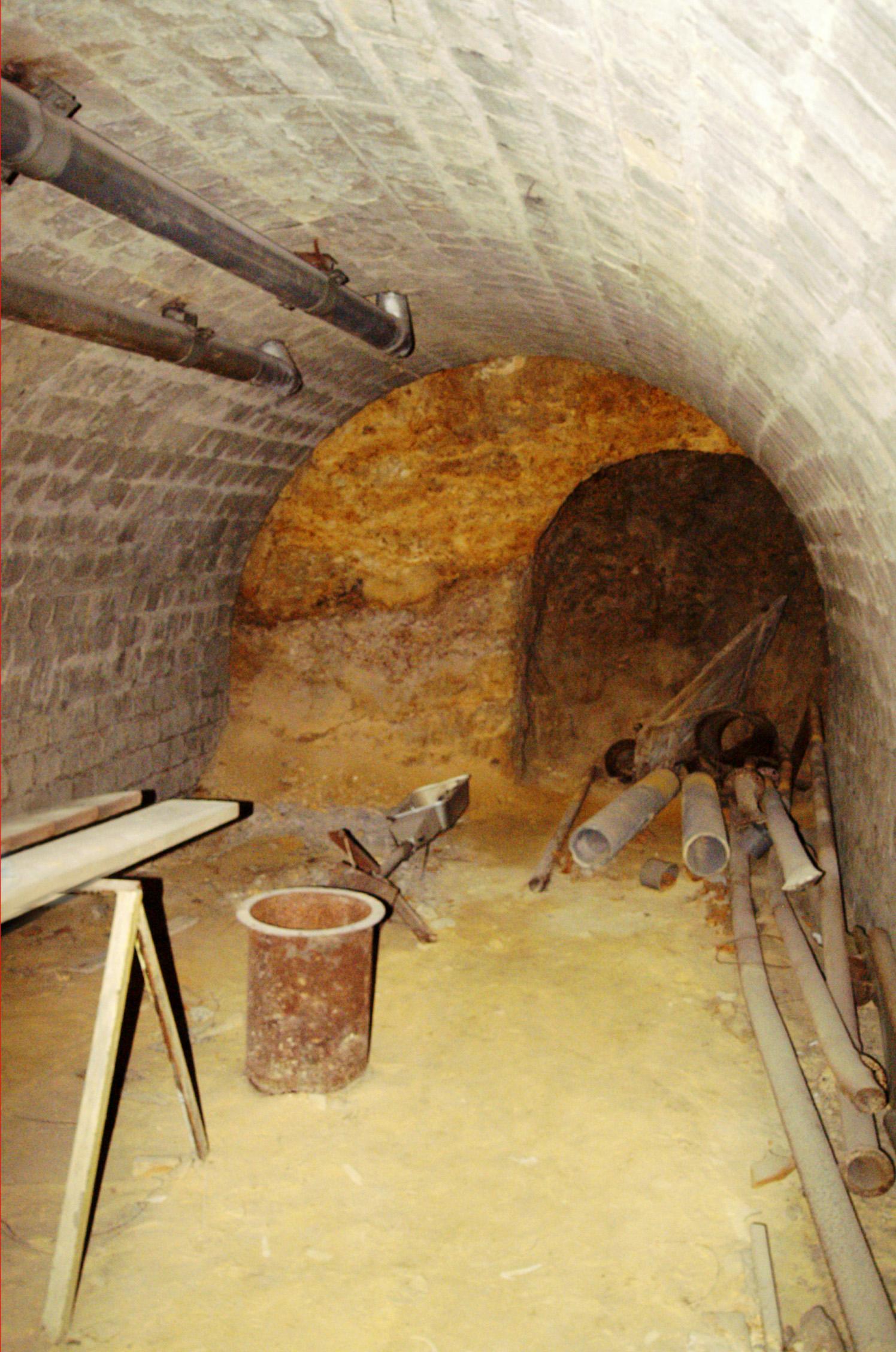 A Gellért és a Rudas közötti alagút