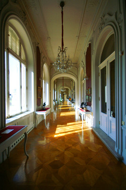 Festetics-kastély belülről