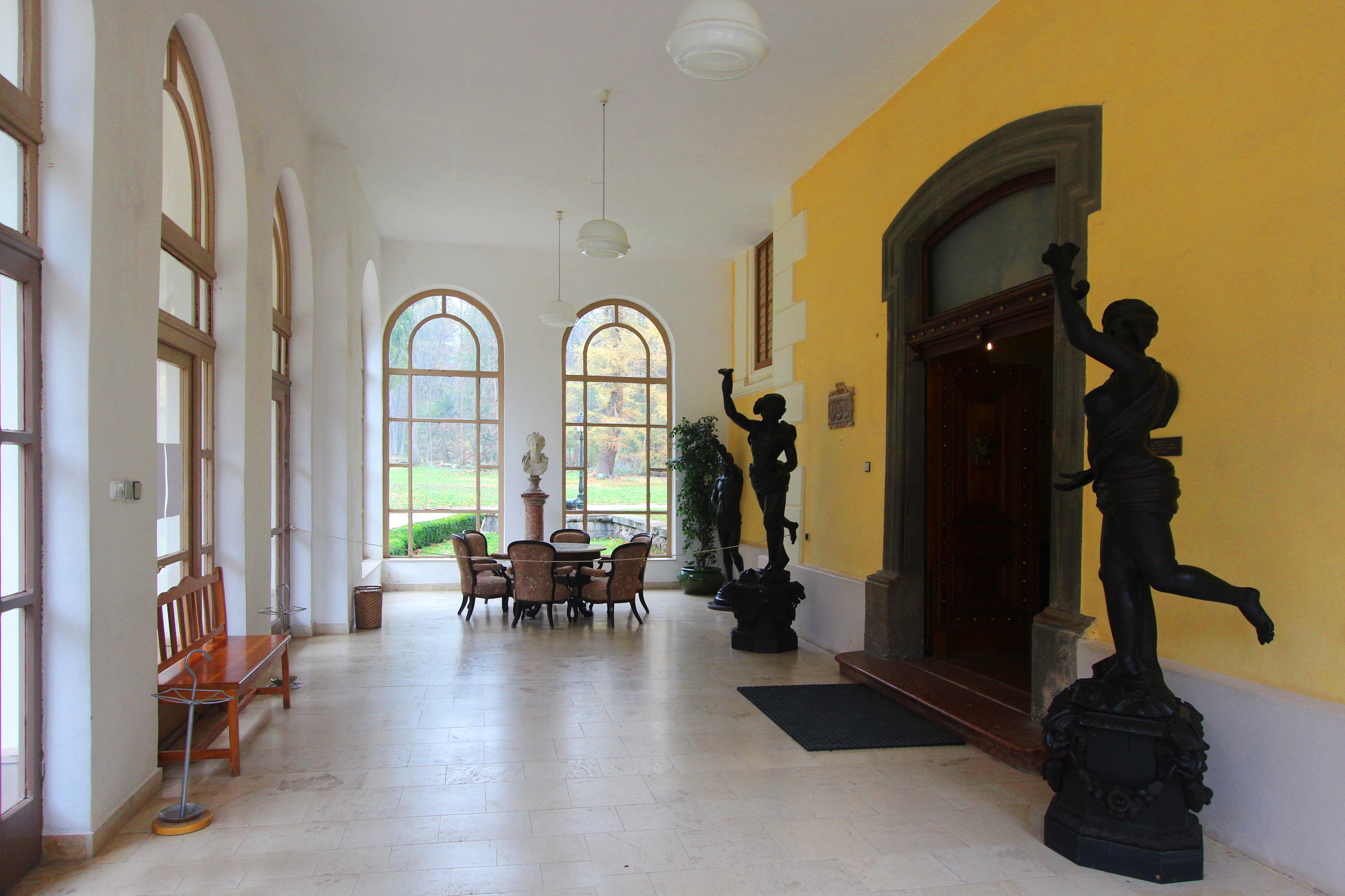 Betlér, Andrássy-kastély