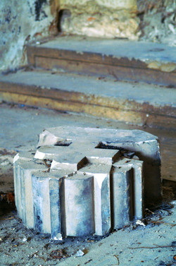 Törley mauzóleum belülről-ravatalozó