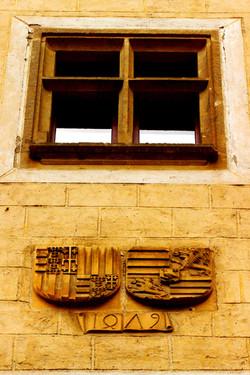 Besztercebánya - Mátyás király címere