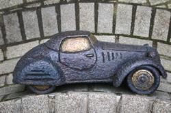 Kolodko miniszobor - A tizennégy karátos autó