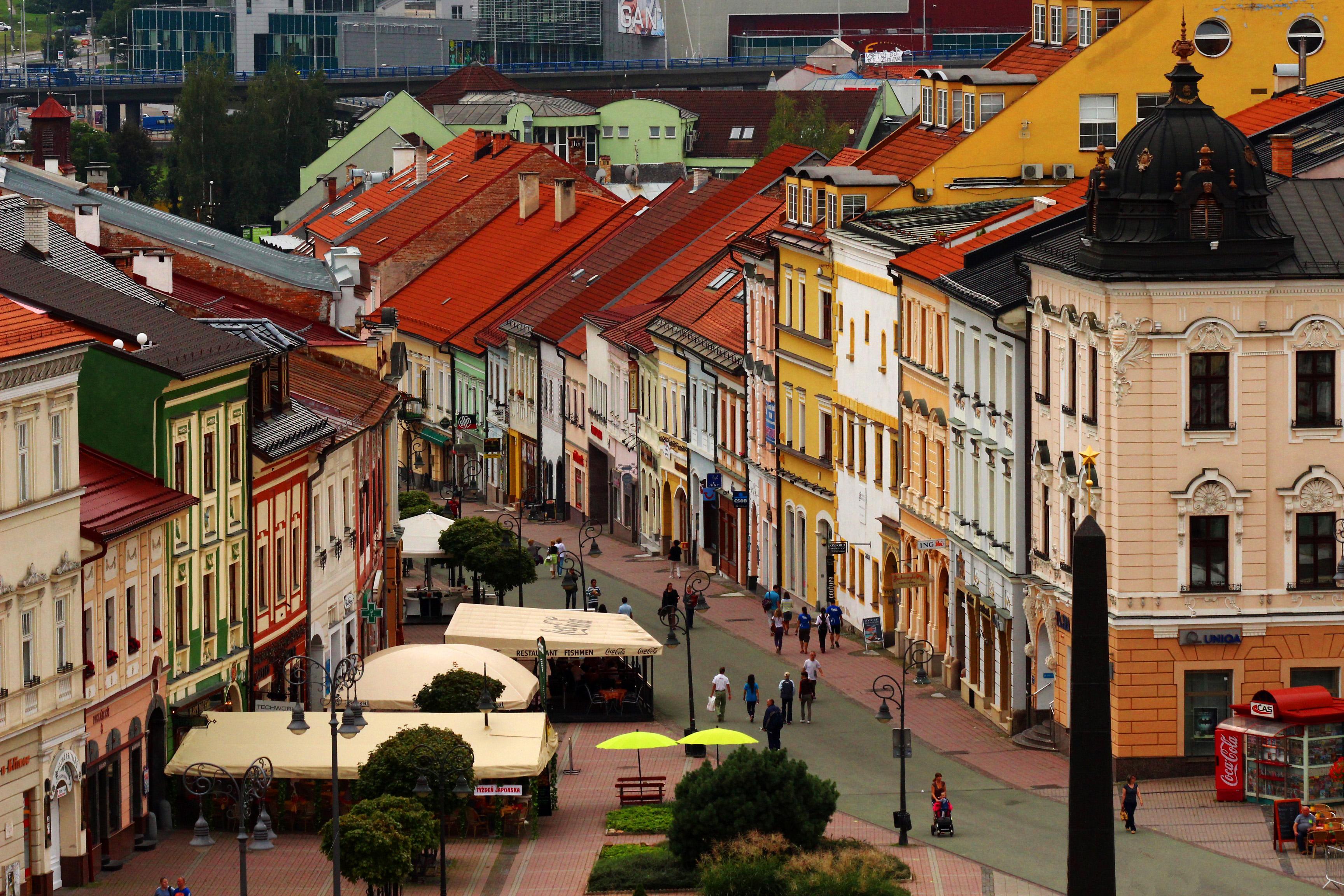 Besztercebánya - Fő tér