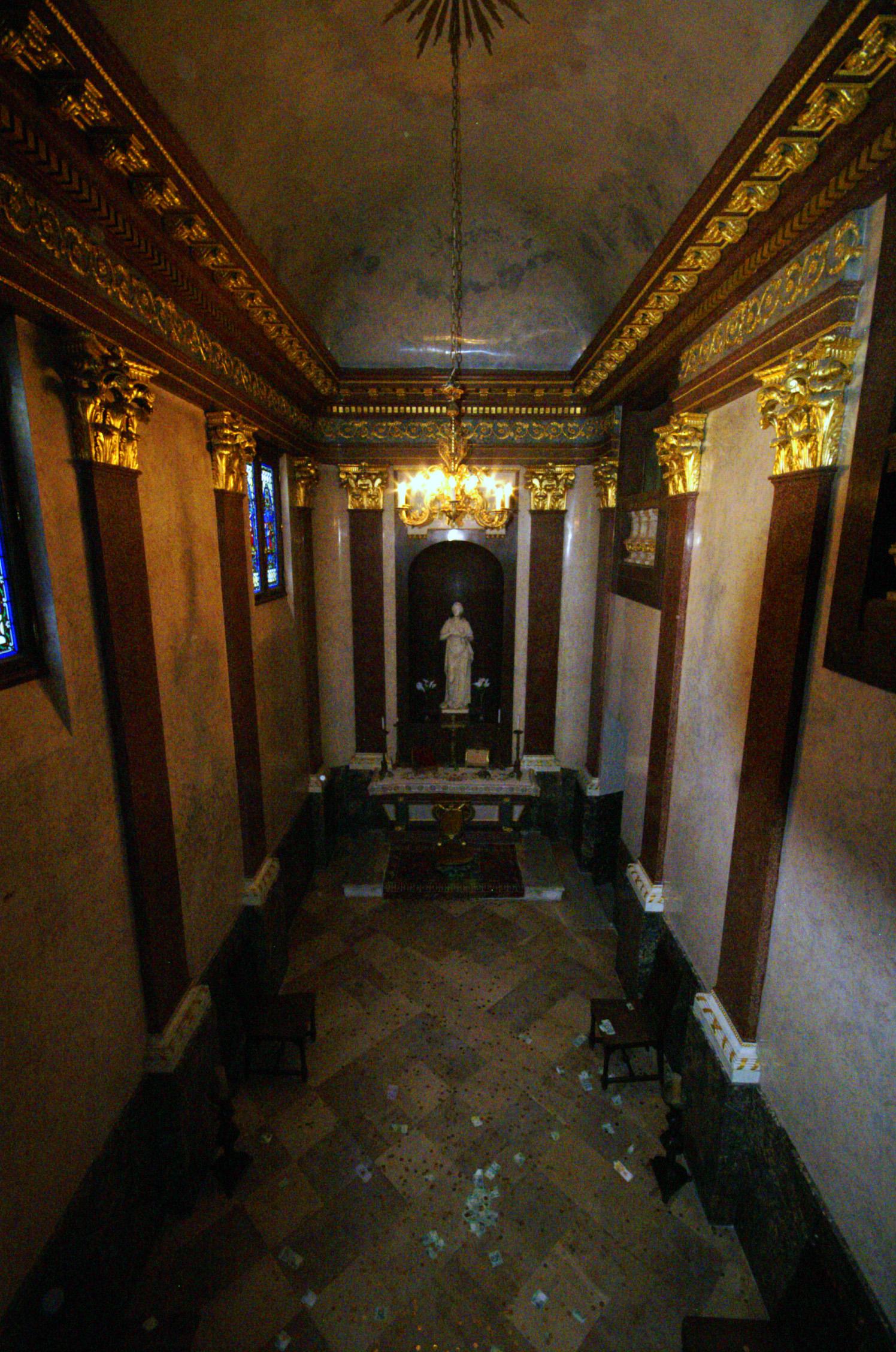 Festetics-kastély kápolnája