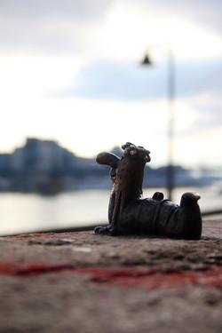 Kolodko miniszobor - a Nagy ho-ho-ho horgász Főkukaca