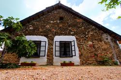 Tihanyi skanzen, Parasztgazda háza