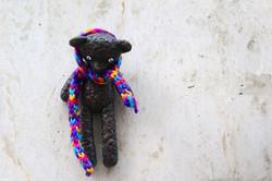 Kolodko miniszobor - Mr. Bean Teddy macija