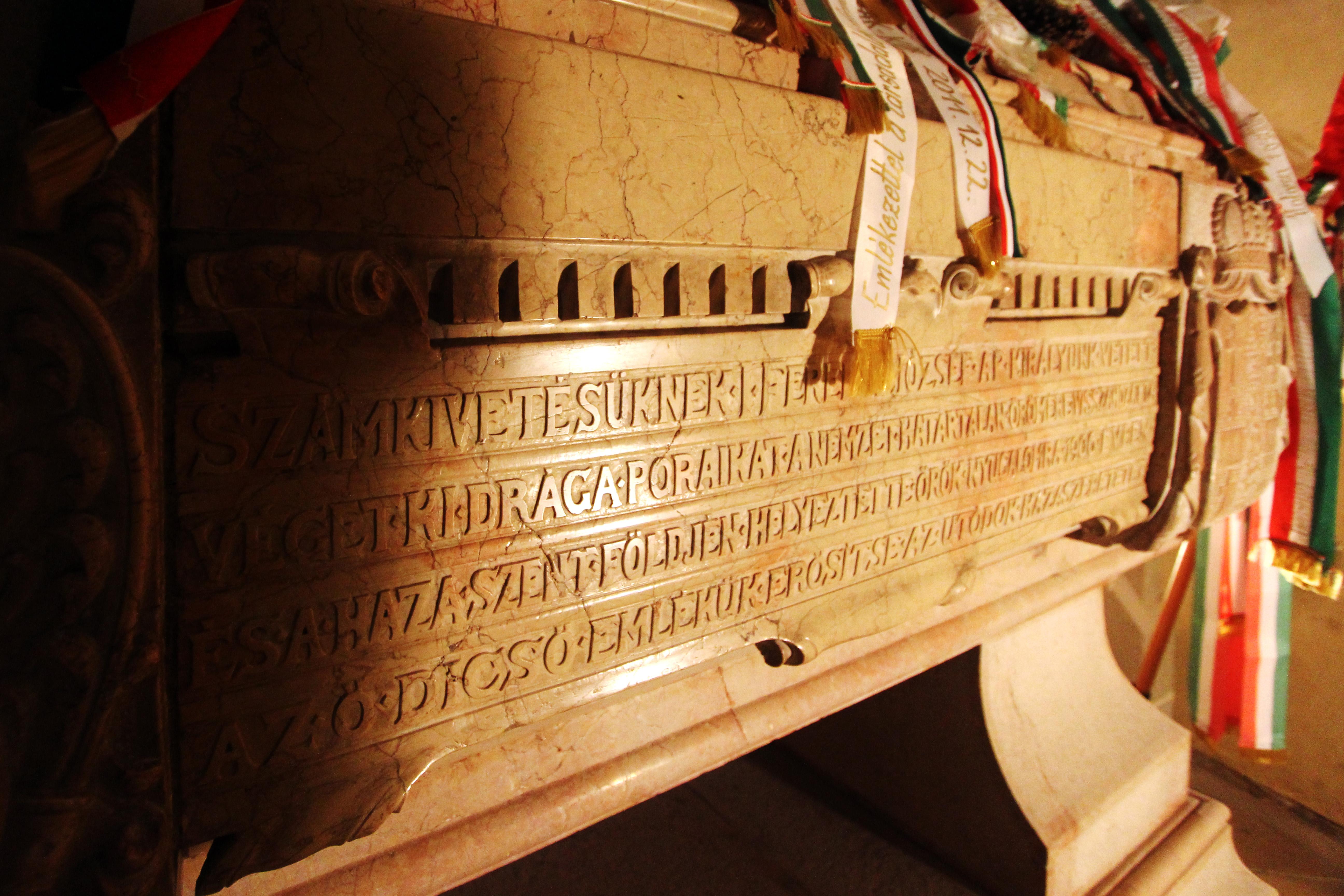 Kassai dóm, Rákóczi-kripta