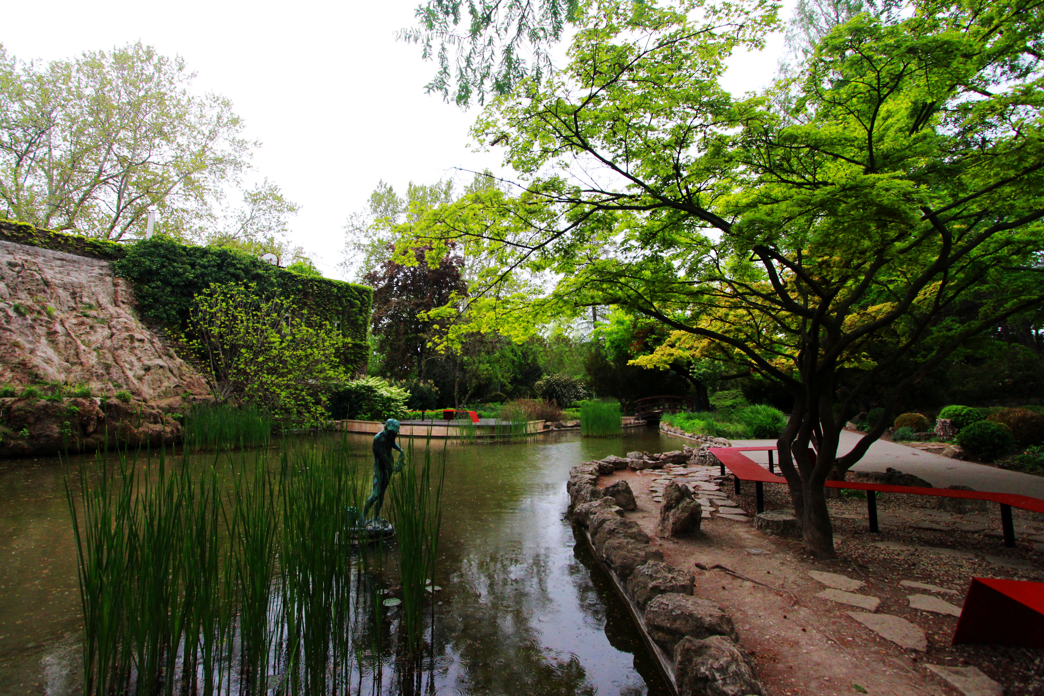 Japánkert a Margitszigeten