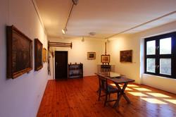 Egry József, Balaton festőjének háza