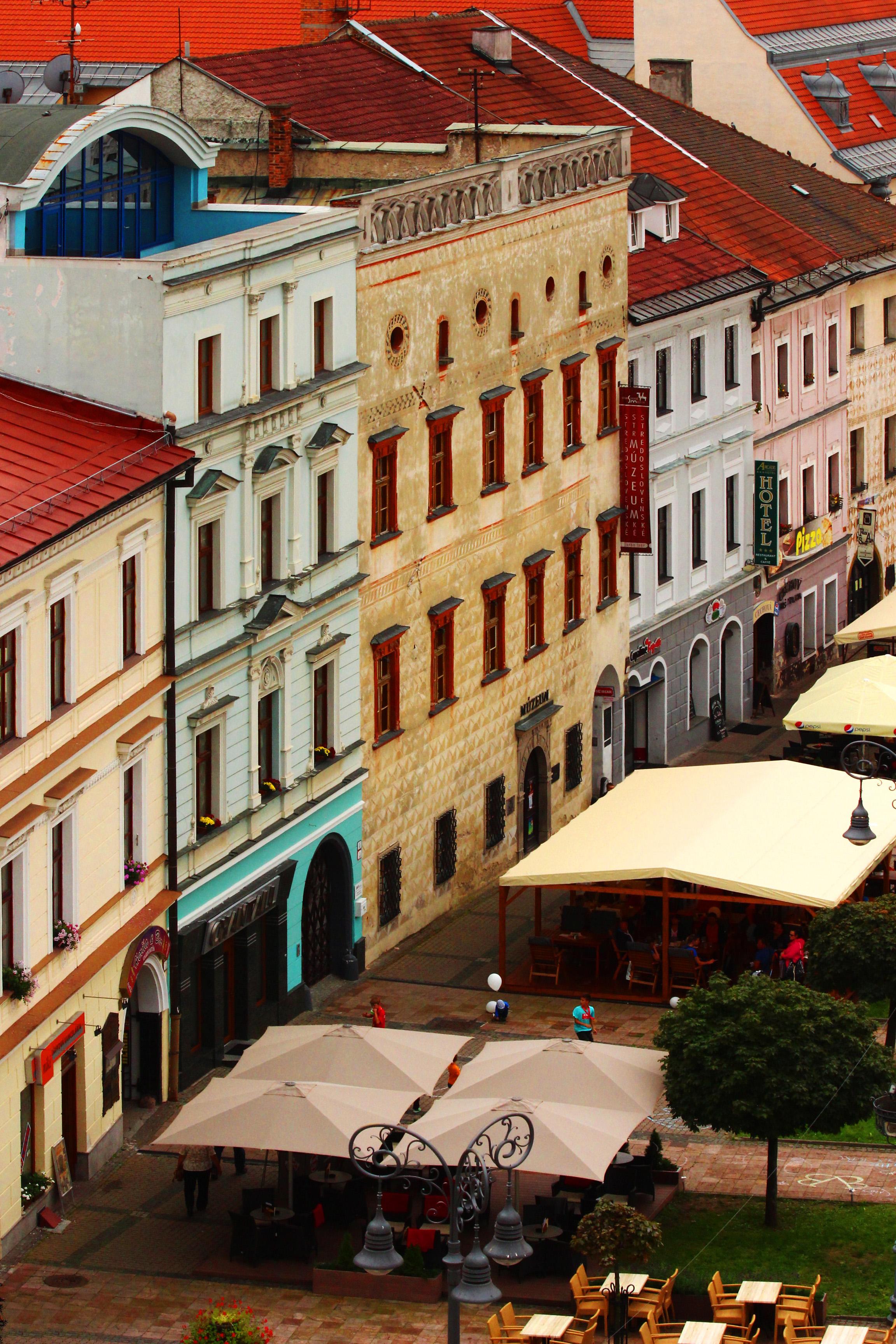 Besztercebánya - Thurzó-ház - balról a harmadik