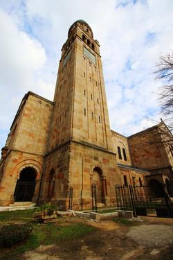 A ferencvárosi Páli Szent Vince templom, és a parkja, ahol egyszer József Attila elveszett