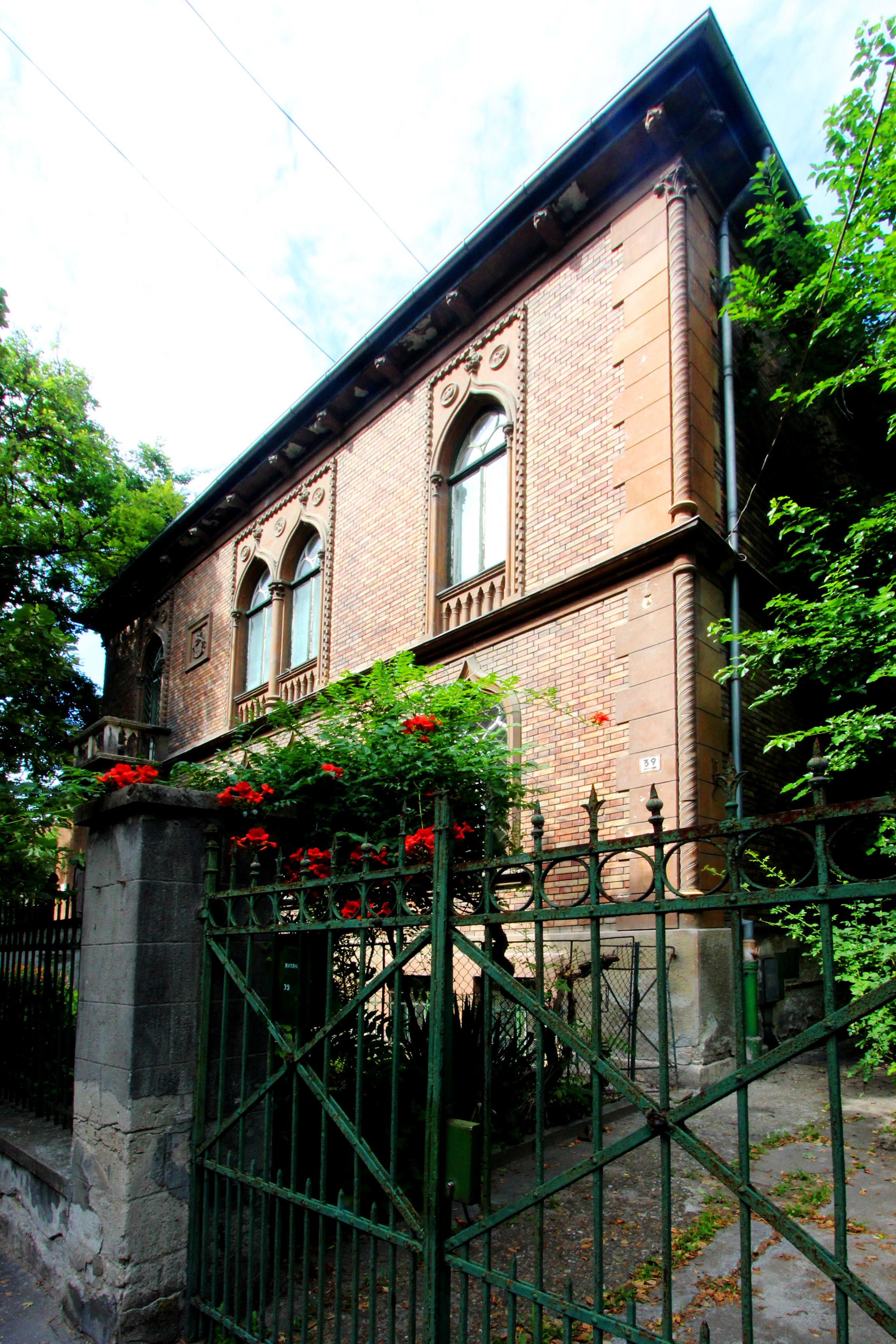 Jókai-Feszty villa - Bajza utca