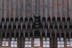 Wekerletelep, Zrumeczky Dezső által tervezett nyugati kapu részlet