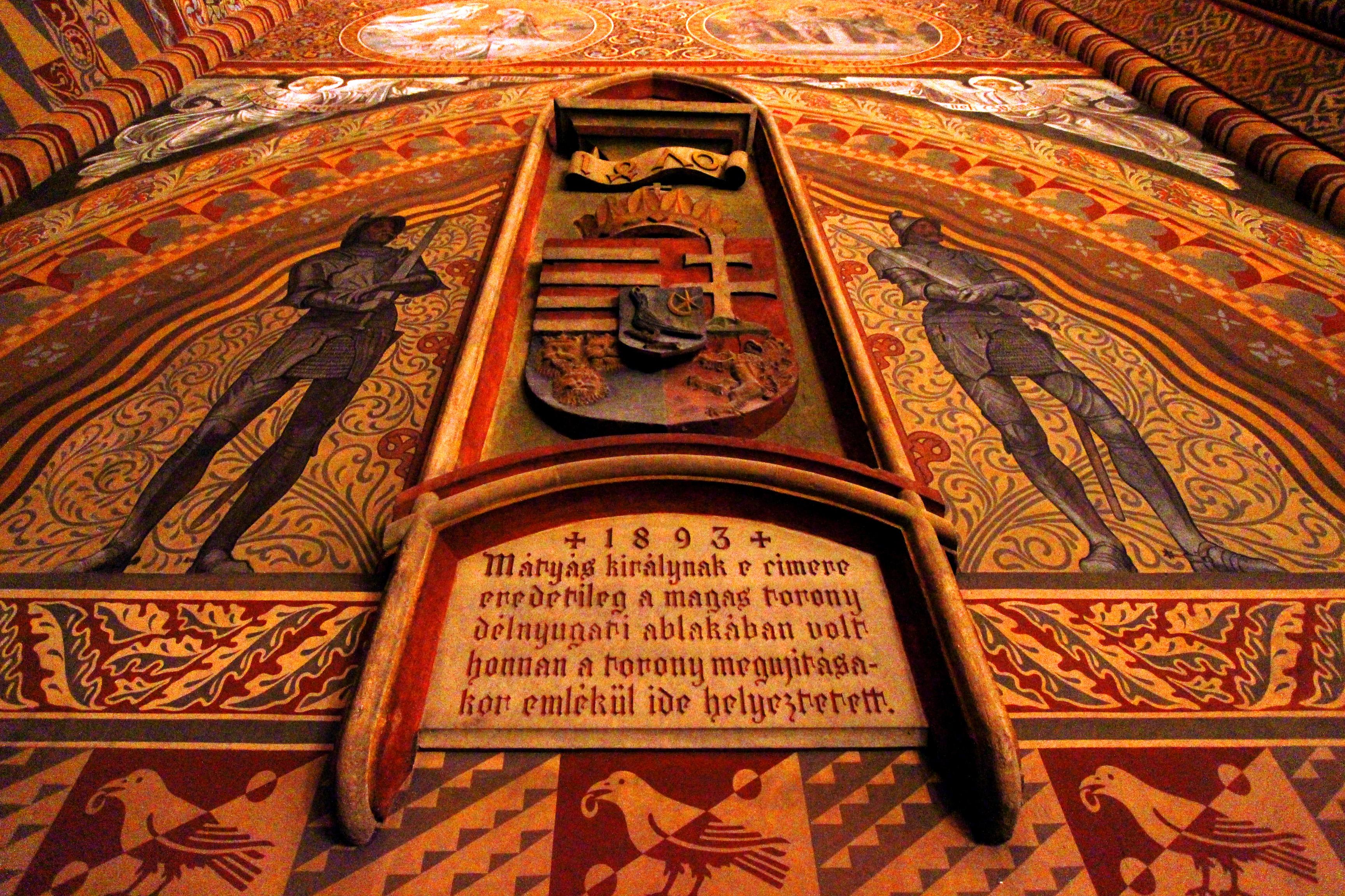 Mátyás-templom belülről