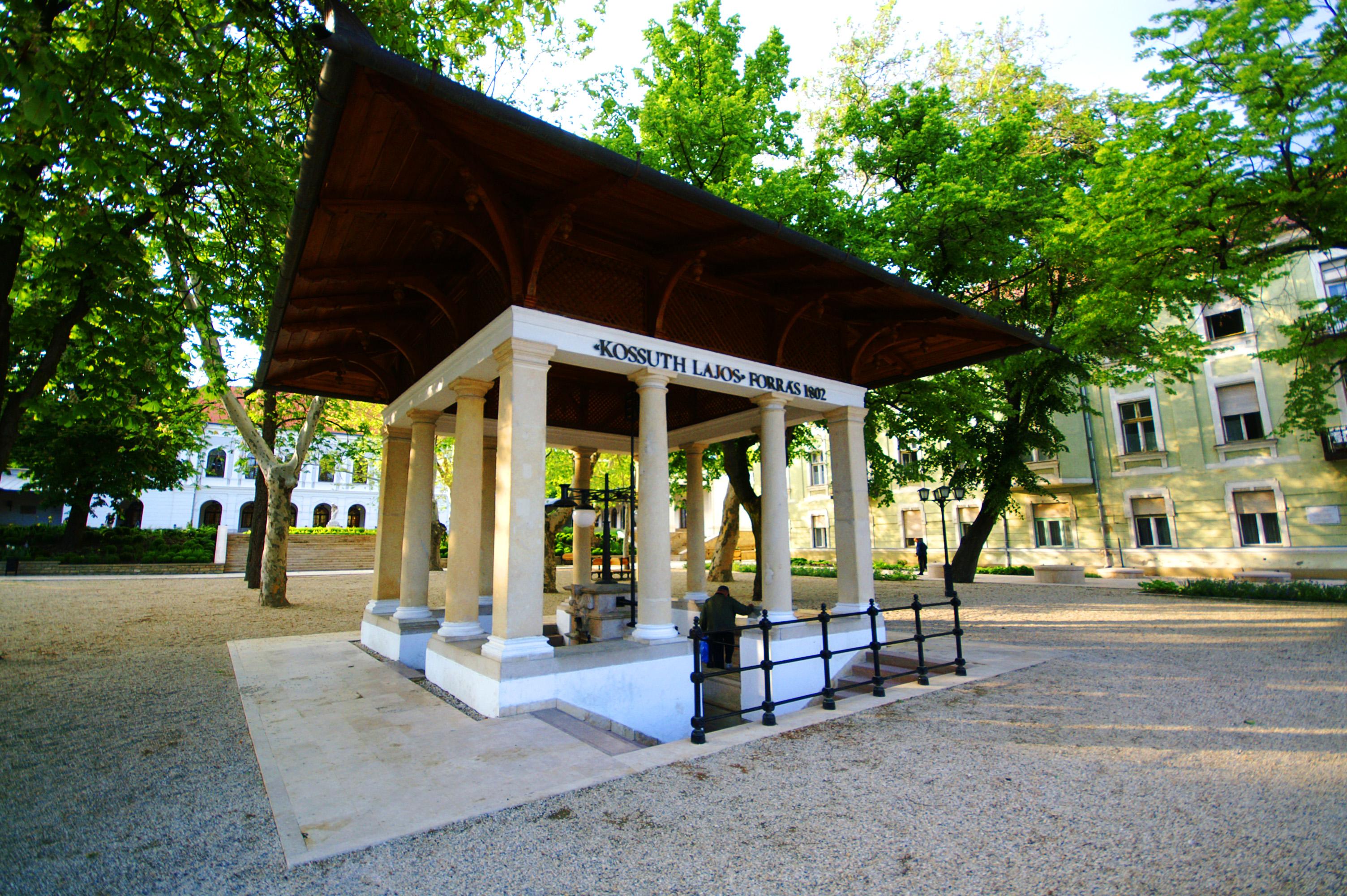 Balatonfüred, Kossuth-forrás