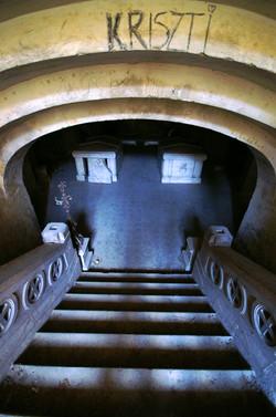 Törley mauzóleum belülről - kripta