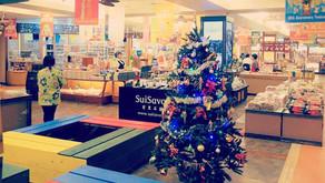 もうすぐクリスマス!子供達も胸踊る時期です!そんな楽しい時期にフルーツらんどに来られるお客様が少しでも楽しんでもらえますようにショップ内もクリスマス仕様です!