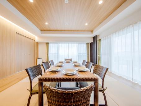 沖縄県名護市のリゾートホテルリエッタ中山は、広いお部屋が特徴です。フルーツランドを始め美ら海水族館など観光施設も周りにはたくさんございます。1名から10名様までの宿泊でもまだまだゆったりスペースです。