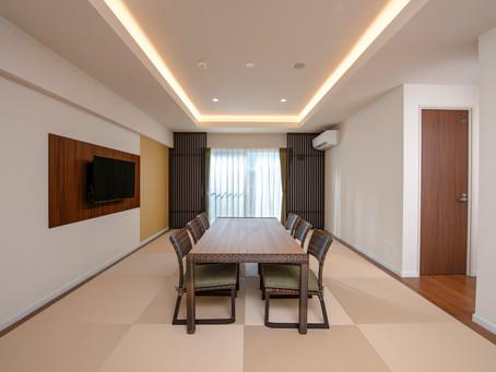 コンドミニアム ホテル名護リゾートリエッタ中山「バリアフリールーム」のご紹介。エントランス・トイレ・バスルーム等はバリアフリー対応となっております。広いお部屋で沖縄時間を感じながらご宿泊いただけます。