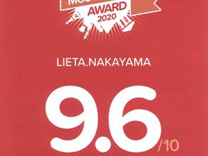 リエッタ中山は、HOTELS.COMよりお客様が選ぶ人気宿アワード2020(LOVED BY GUESTS AWARD 2020)9.6/10を頂きました。スタッフ一同心より御礼申し上げます。