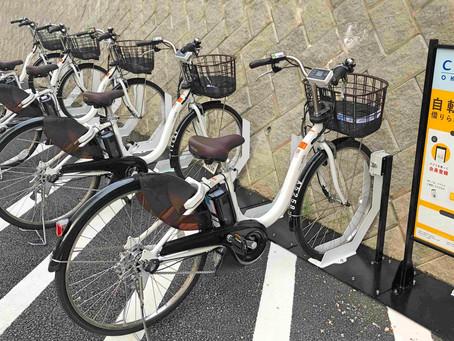 リエッタ中山にてシェアサイクリングのサービスが開始されました。電動自転車なので楽々移動です。沖縄名護市を中心にやんばるの自然をもっと体感する観光ができるはずです。11/10はツールド沖縄の開催です。
