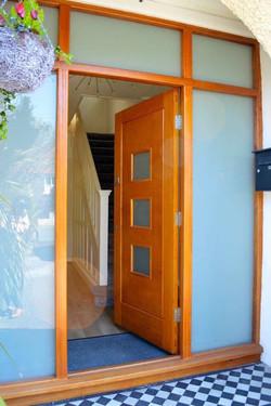 A 'Turin' Oak Door & Combi Frame