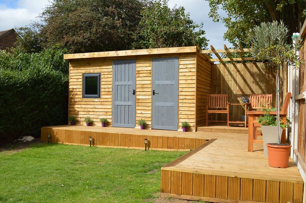 Taking the Home's Office or Gym to the Bottom of the Garden! D K JOINERY | Wirral