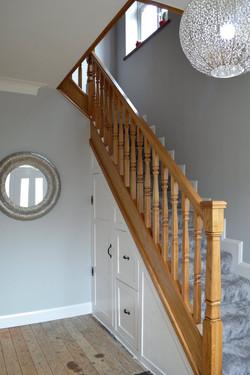 Bespoke Oak Staircase & Storage