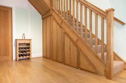 Bespoke Oak Staircase Inc. Storage