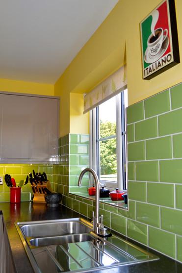 High Gloss Retro Kitchen