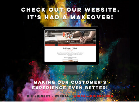 Check out our Website. It's had a Makeover!